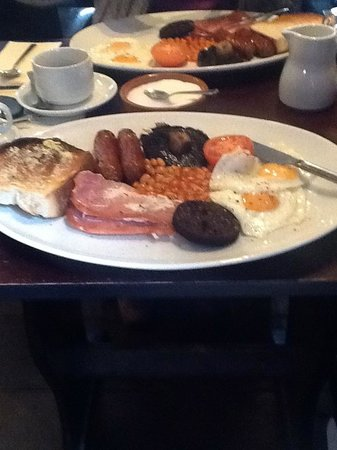 Guildhall Tavern Hotel & Restaurant: Breakfast