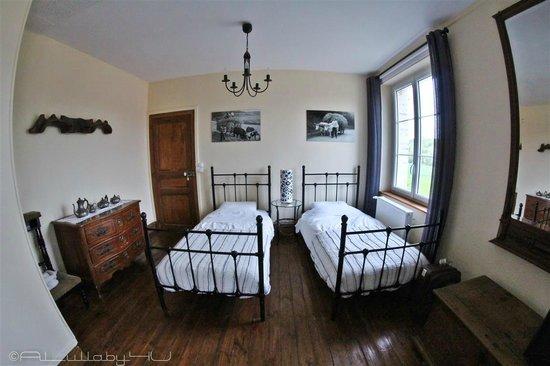Ferme Saint Antoine : Ruime slaapkamer