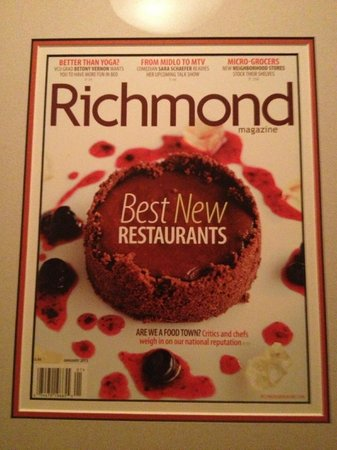 Belmont Food Shop: The magazine cover