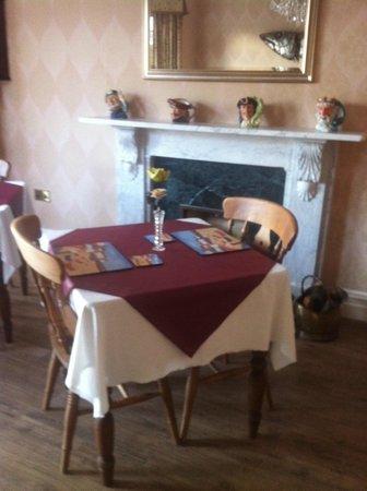 Northrise Lodge : salle de petit déjeuner