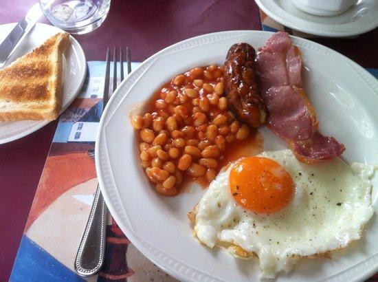 Northrise Lodge: petit déjeuner