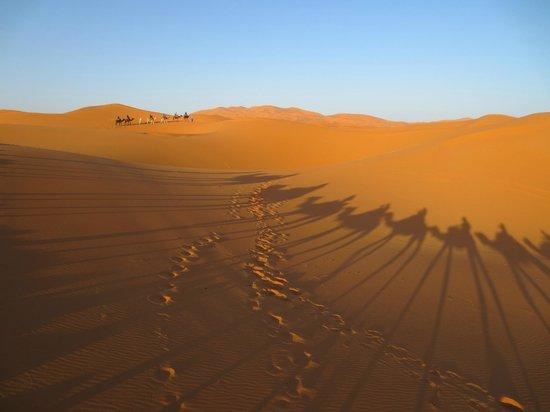 Hotel Kasbah Mohayut: les dunes