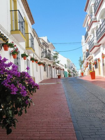 Estepona Old Town - the Calle Antero