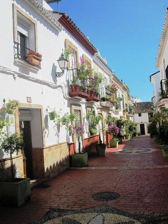 เอสเตโปนา, สเปน: Estepona Old Town - the Calle Portada
