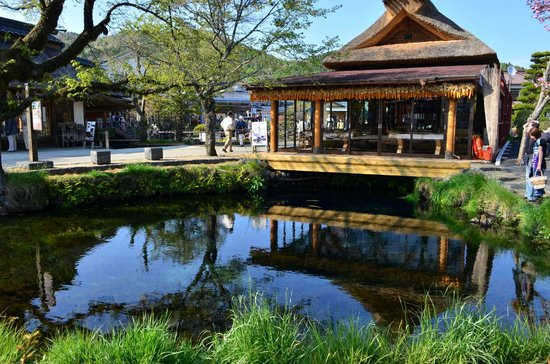 忍野村のレストラン
