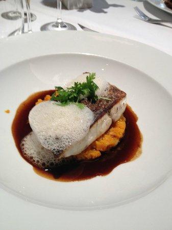Brasserie Cote Cour: poisson