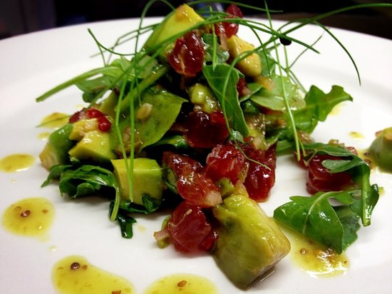 Sashimi tuna and avocado - Picture of Hanover Street Social, Liverpool ...