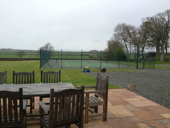 The Outbuildings: tennis courts
