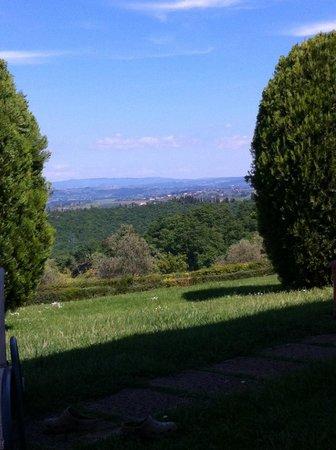 Fattorie Santo Pietro: Panorama dalla nostra veranda