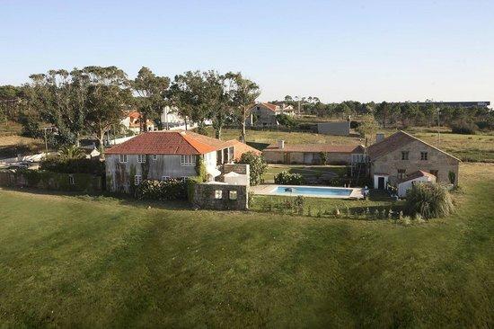 Punta Couso: Hotel y jardin