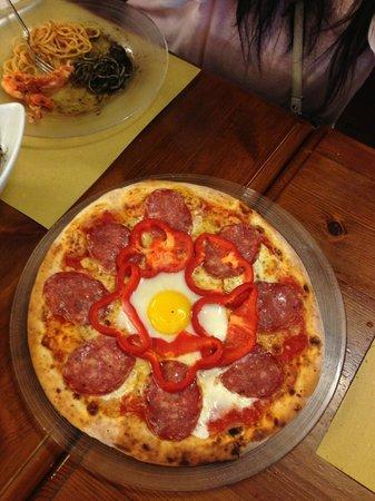 """Ristorante Da Poggi: Pizza """"Lido"""""""