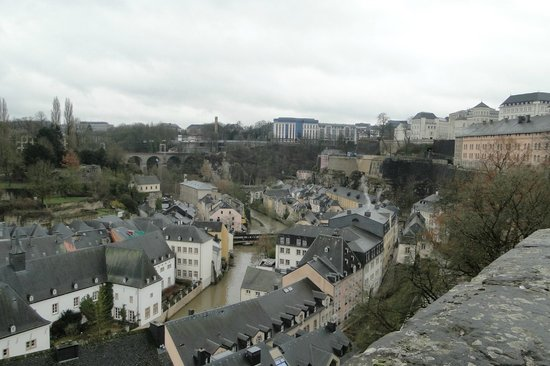 Luxembourg City, Luxembourg: Vistas incríveis