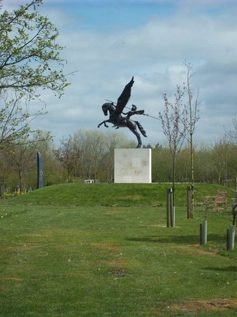 Hilton at St George's Park, Burton upon Trent: National Memorial Arboretum - A worthy day out