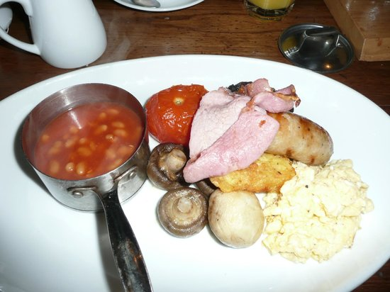 The Woolly Sheep Inn: Delicious full English breakfast