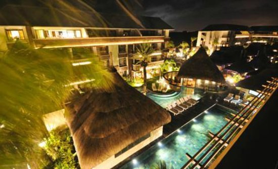 Domaine des Alizees Club & Spa by Evaco Holiday Resorts: Night view