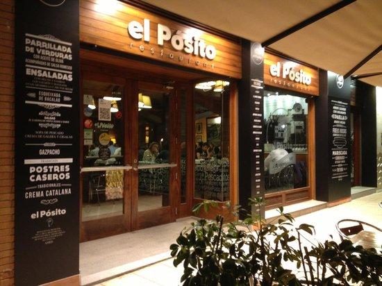 El Posito Restaurant : fachada