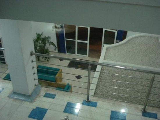 Hotel Oceano: La recepción