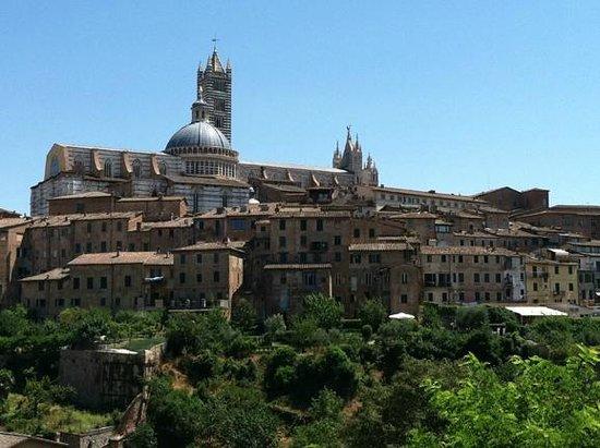 Basilica di San Domenico: the view of the Duomo