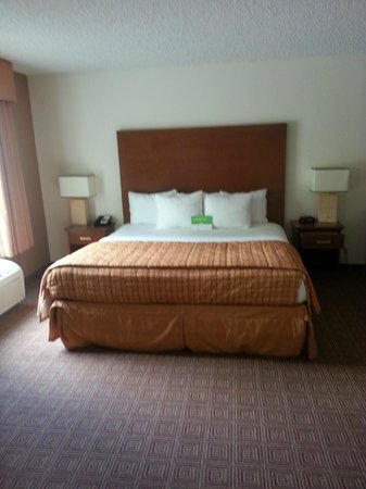 La Quinta Inn & Suites Danbury : SPACIOUS-KING BED
