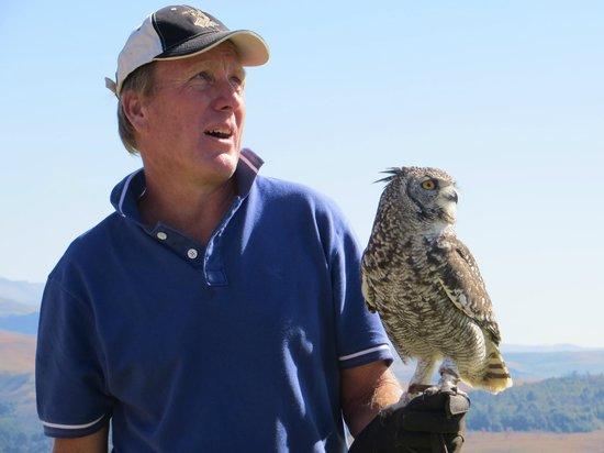 Falcon Ridge Bird of Prey Centre: Greg, the owner of Falcon Ridge