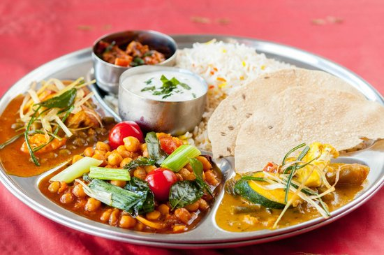 Curry Express: Vegetarian Thali $9.99