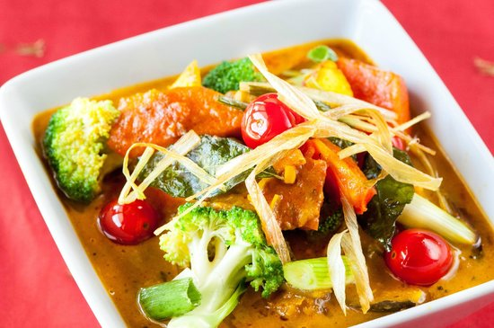Curry Express: Vegetarian curry $10.99
