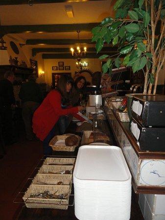 City Hotel Nieuw Minerva: Desayuno - bufet libre