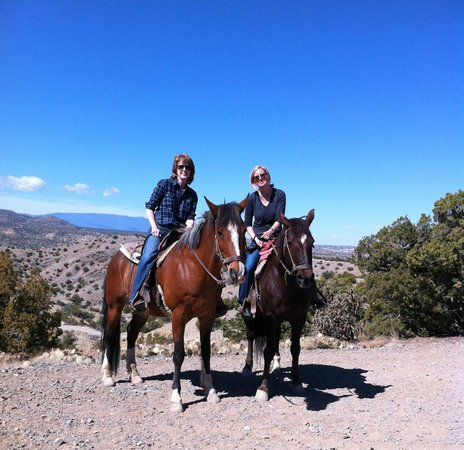 Broken Saddle Riding Company: My sister and I enjoying an incredible view. Photo taken by our guide.