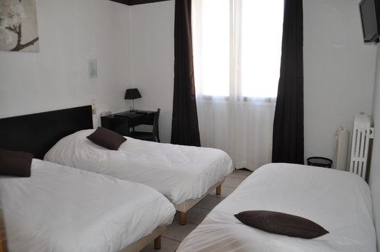 Hotel Saint George : chambre triple