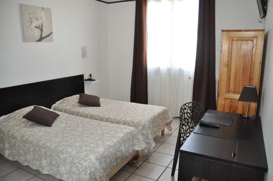 Hotel Saint George : chambre twin