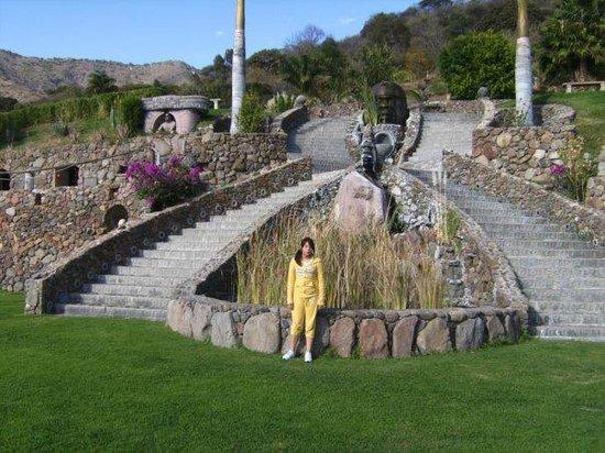 Monte Coxala Spa: Alrededores de hotel, vista impactante