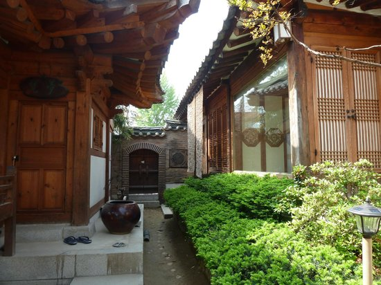 Rakkojae Seoul: inner yard