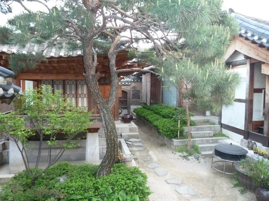 Rakkojae Seoul: outer yard