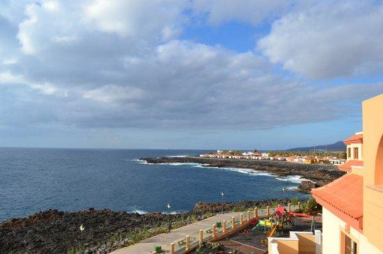 Elba Castillo San Jorge & Antigua Suite Hotel: View from balcony apartment 1323