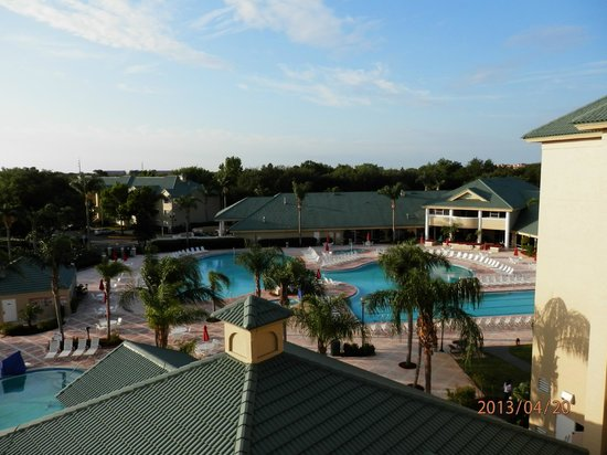 Silver Lake Resort: View of pool Area and main building