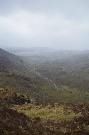 The Kerry Way: View to Lough Acoose