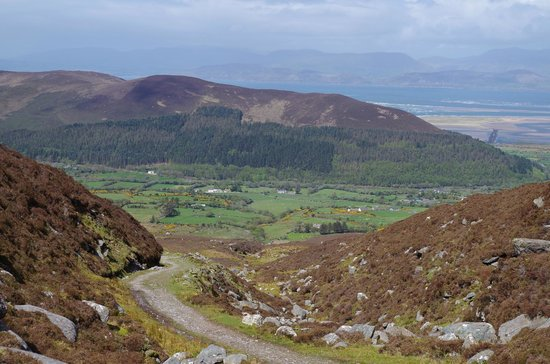 The Kerry Way: Windy Gap - Dingle in the far background