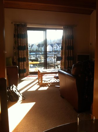 Windermere Marina Village: lounge area cottage 17