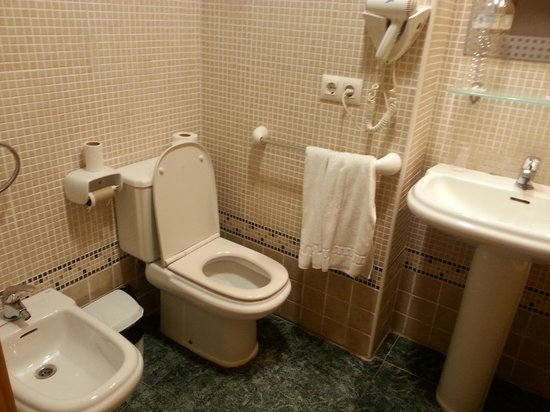 Adsubia Hotel : Baño