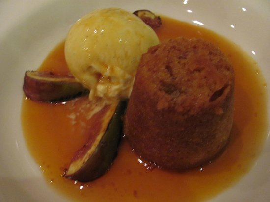 Pomodoras on Obi: Fig pudding