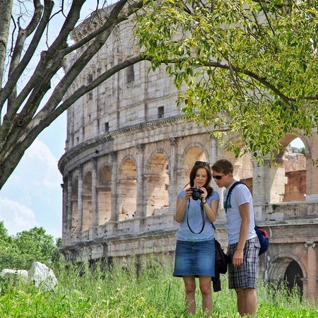 Rome Photo Tours: Tourists in Rome