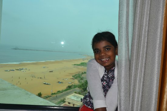 The Quilon Beach Hotel & Convention Centre: the room view