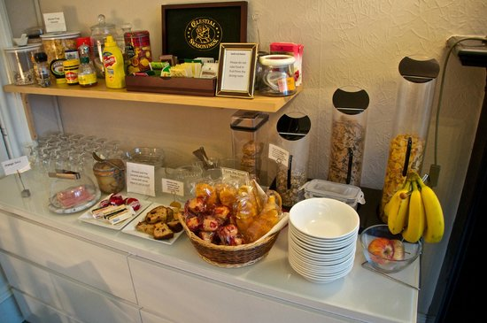 Barony House: continental breakfast