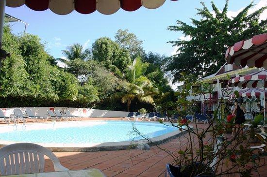La Maison Creole : La piscine