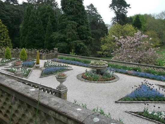 The Palace Hotel: gardens