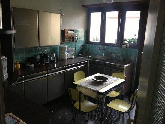 Le Stoeckli : the kitchen