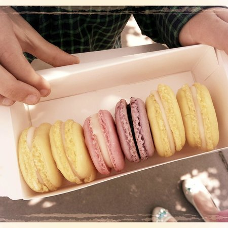 Stockton Market: Best macarons this side of the Atlantic!