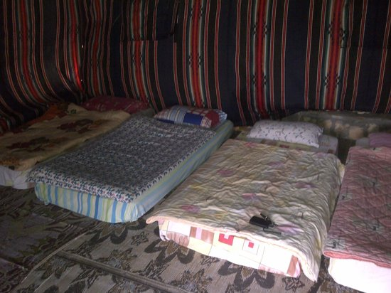 Jebel Shams Resort: tent