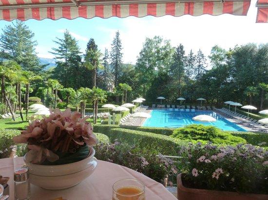 Hotel Simplon: vista dalla sala colazioni