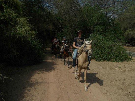 Rancho Santana: on the way